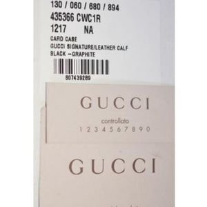 Gucci Bags - NWT Gucci Grey Leather GG Guccissima Wallet 435366